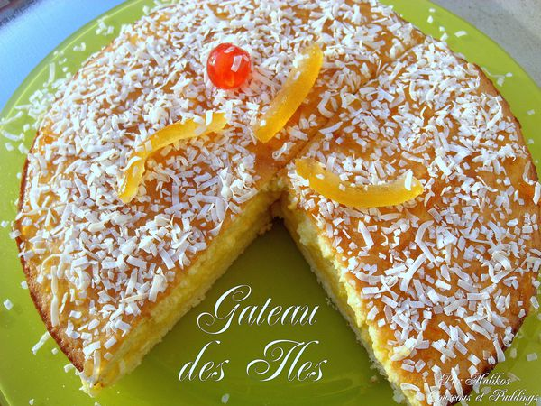 gateau des iles a la mousse a l'orange