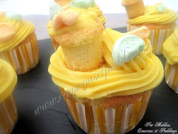 cupcake au marshmallows halal