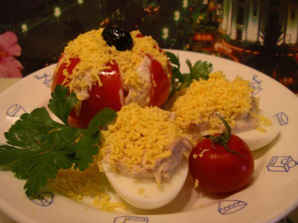 Tomates et oeufs a l 39 antiboise la cuisine de josette for Petite entree sympa