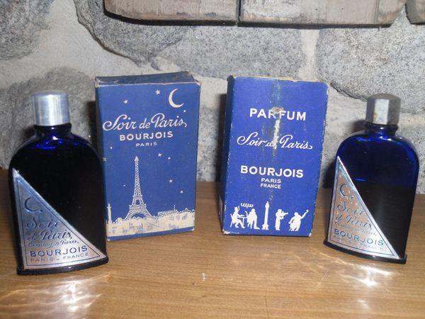 Bourjois Soir De Paris Collection Miniatures De Parfum Anciennes