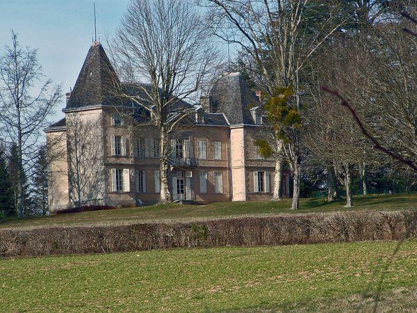 34- le château de Condat