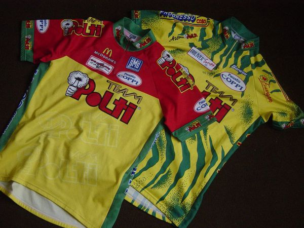 maillots Polti 96 et 98