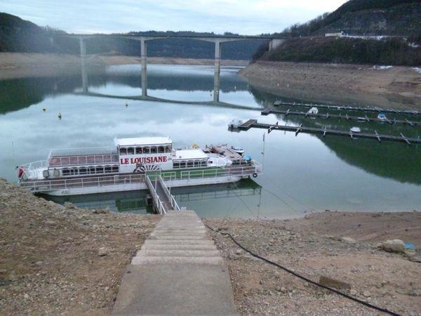 6 mars 2013 Vouglans est à - 19 mètres (1)