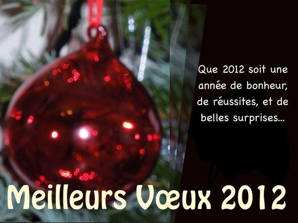 Meilleur voeux 2012