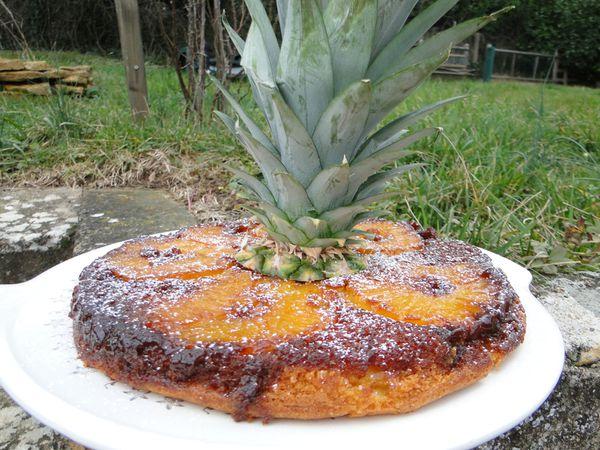 Gateau ananas 4 personnes