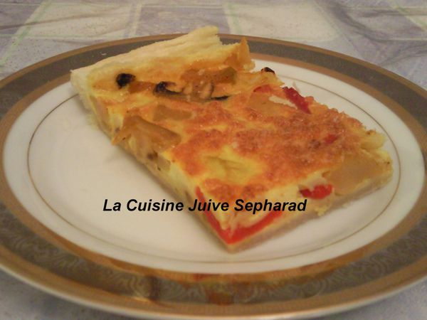 antipasti quiche de legumes la cuisine juive sepharad