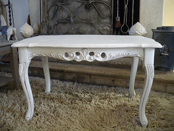 Tableau blanc for Table basse kendra