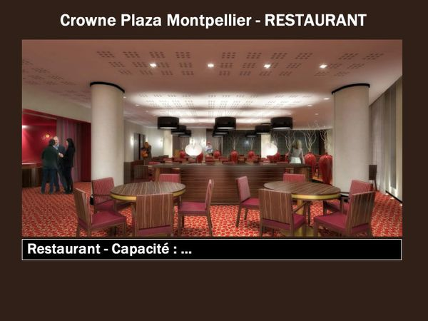 le crowne plaza montpellier corum ouvrira ce printemps 2011 dynamisez vos prochaines r unions. Black Bedroom Furniture Sets. Home Design Ideas