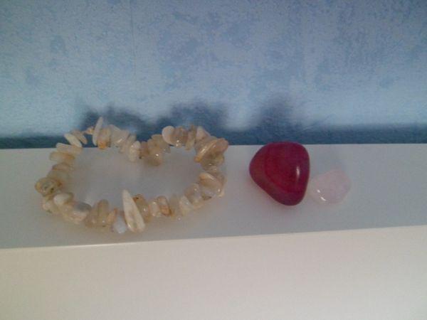 bracelet et pierres