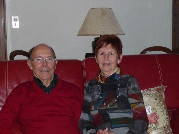 Michel et Marie-Jo Grenoux, deux retraités heureux.
