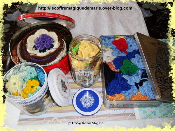 crochet 1 fleurs