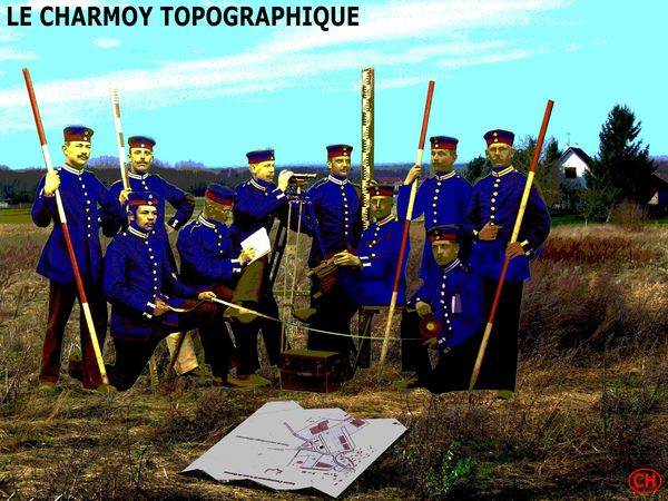 CHARMOY topographique A