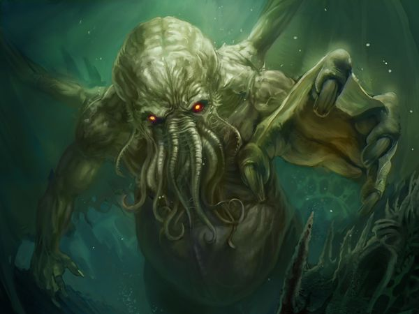 Cthulhu Rising by somniturne