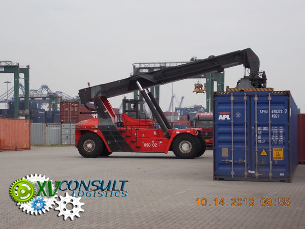 Container export Chine A