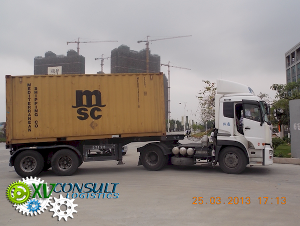 Container 20 Export Chine