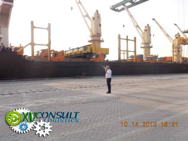 A- Transport maritime navire complet Chine Afrique 6