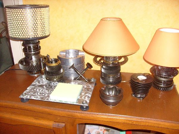 objets issus du recyclage