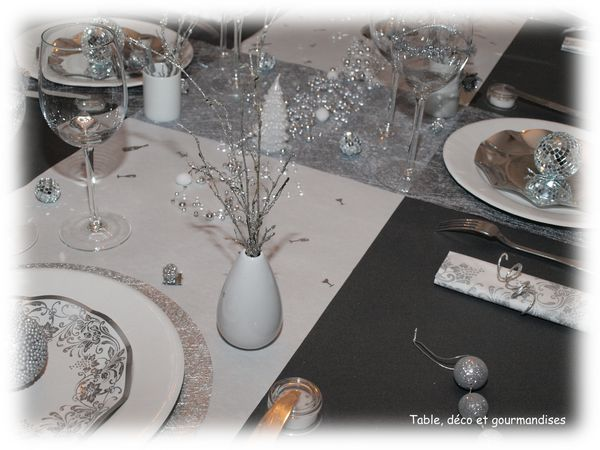 Tables de nouvel an table d co et gourmandises - Deco reveillon nouvel an ...