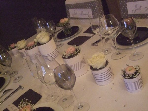 TABLE JUST MARRIED ( noce de perle ) 015