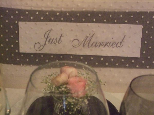 TABLE JUST MARRIED ( noce de perle ) 039