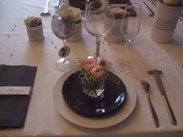 TABLE JUST MARRIED ( noce de perle ) 057