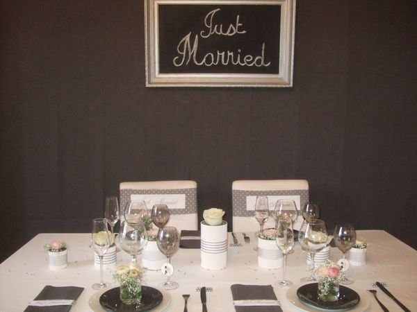 TABLE JUST MARRIED ( noce de perle ) 062