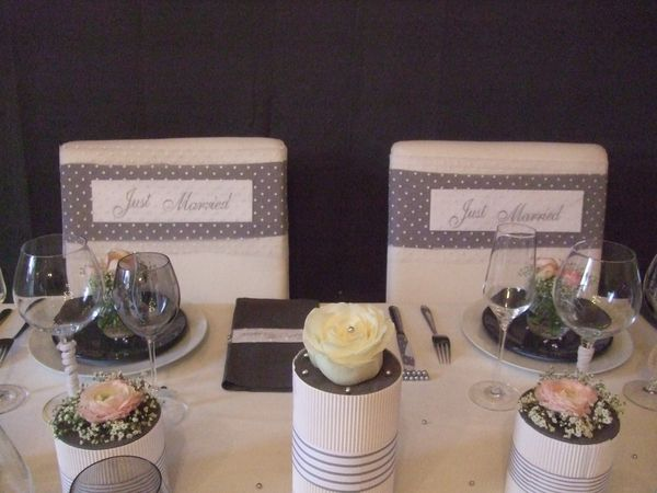 TABLE JUST MARRIED ( noce de perle ) 073