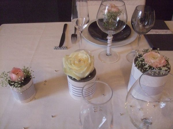TABLE JUST MARRIED ( noce de perle ) 075