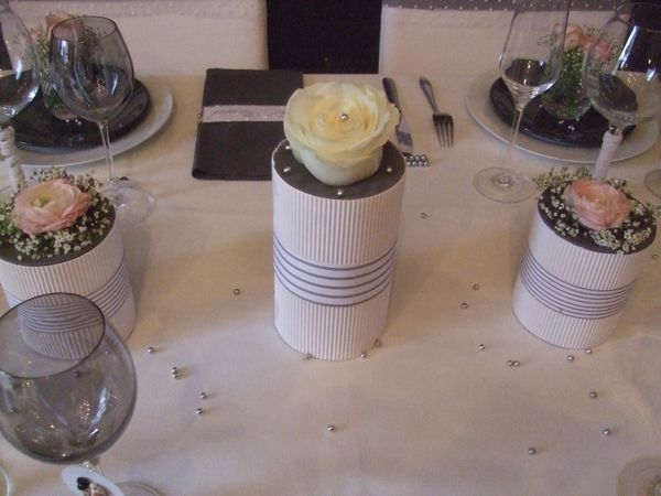 TABLE JUST MARRIED ( noce de perle ) 077