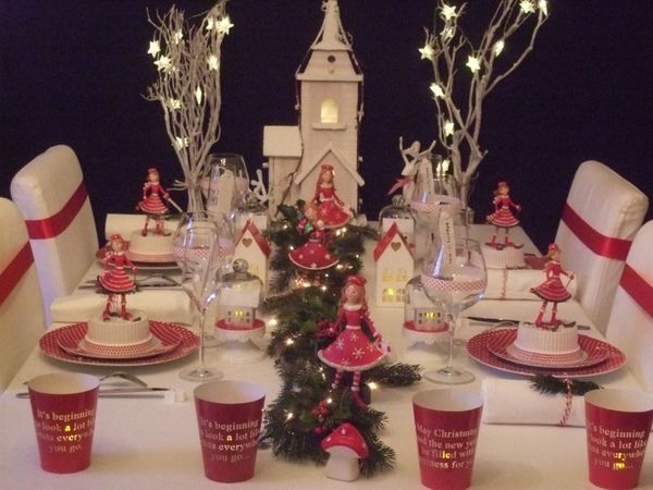 Le blog de bout de bout de zan sky - Table de noel traditionnelle ...