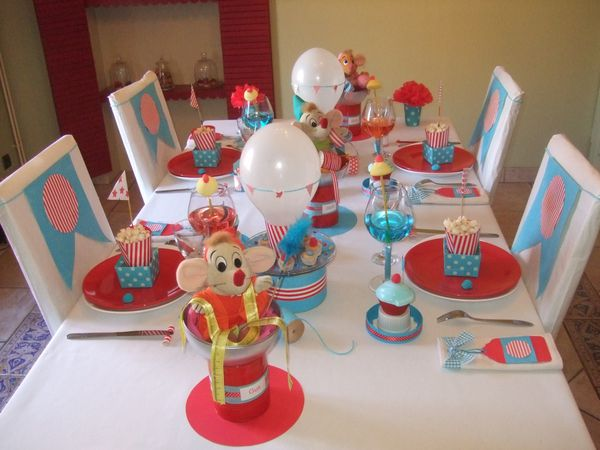 decoration de table cendrillon