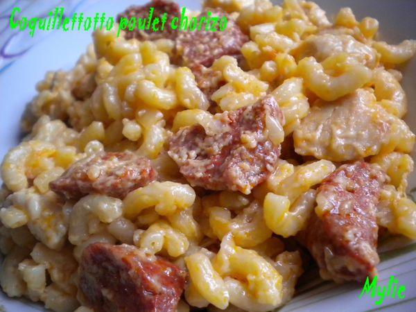coquillettotto poulet chorizo 2
