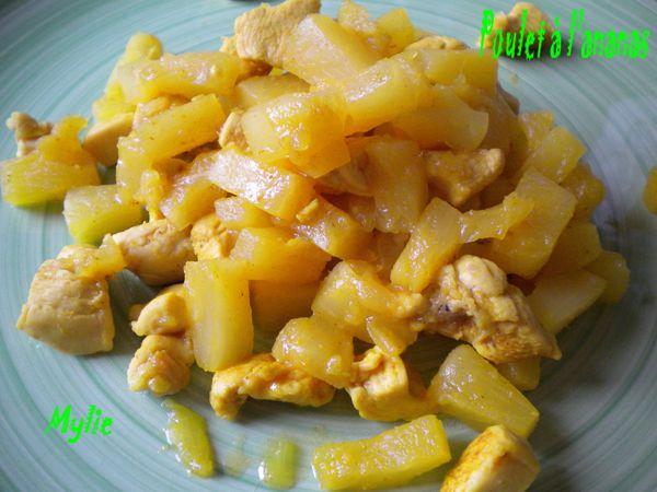 poulet ananas 1