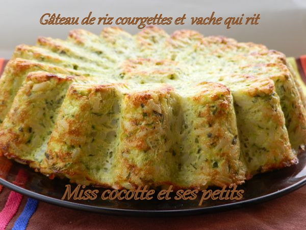 gateau de riz courgettes et herbes le blog de miss. Black Bedroom Furniture Sets. Home Design Ideas