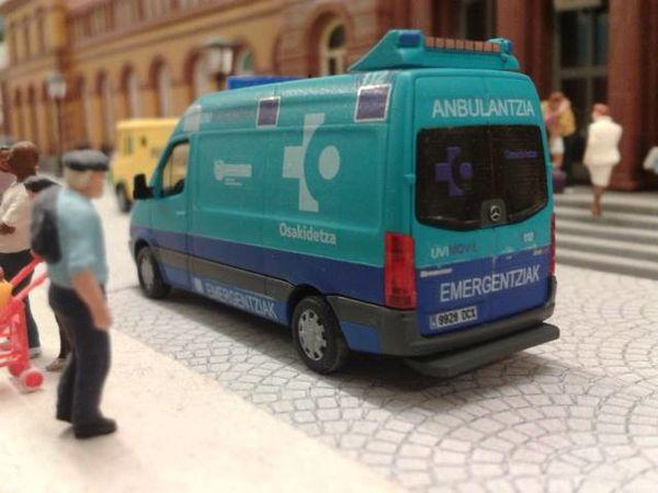 ambulancia Medicalizadas de Osakidetza a