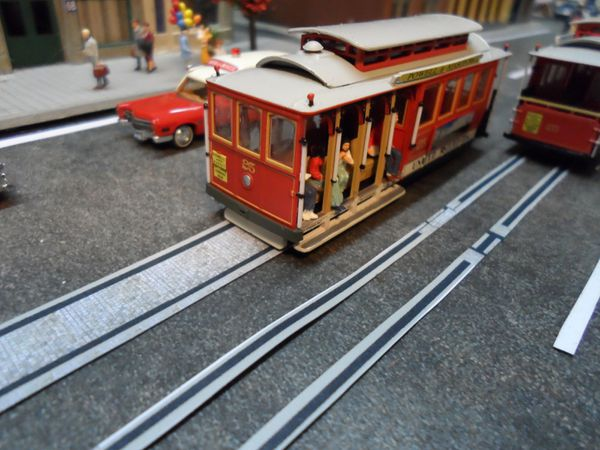 tramway san francisco 1 87 diorama