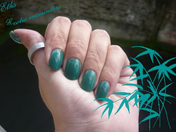 china glaze Exotic encounters 1071 On safari 2 couche 3