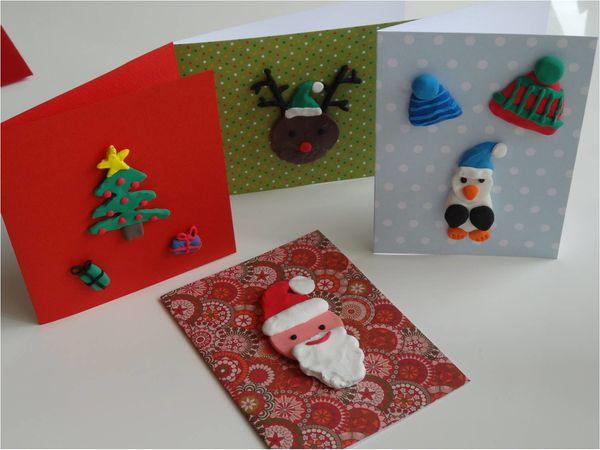 4 diy faciles de cartes de voeux faire par les enfants lucky sophie blog maman. Black Bedroom Furniture Sets. Home Design Ideas