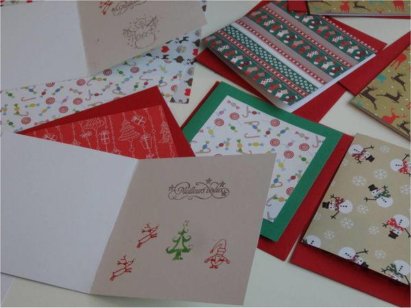 Re creations lucky sophie blog maman sorties et - Carte de noel originale a faire soi meme ...