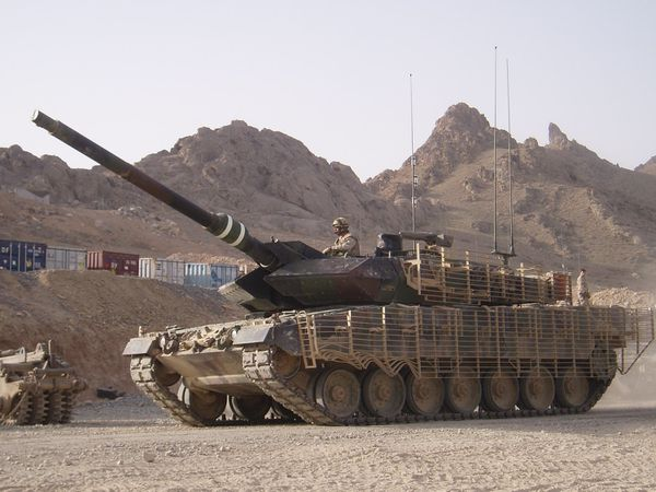 canadian leopard2a6