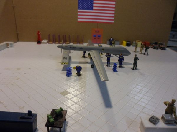 diorama drone rq1 24