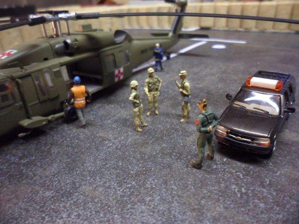 diorama combat rescue 20