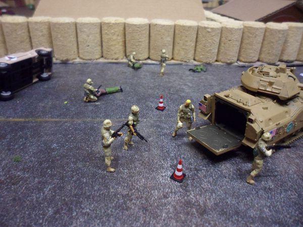 diorama dioramen combat rescue 33