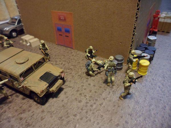 diorama dioramen combat rescue 14