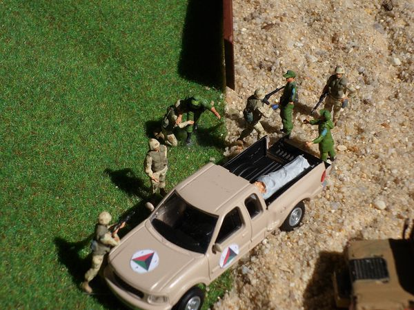 diorama afghanistan combat rescue 14