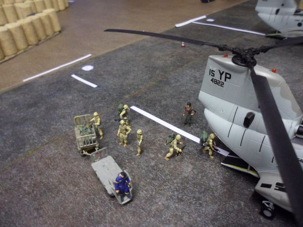 diorama dioramen combat rescue 8