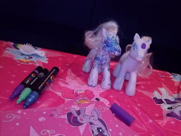 customisation little poney 2