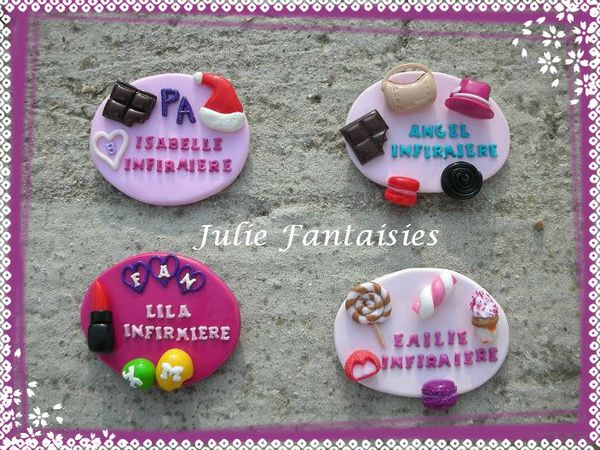 Turbo Quelques badges  - Julie Fantaisies GV83