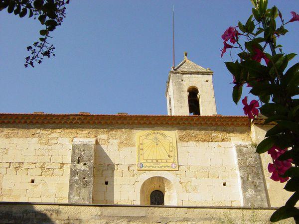 Frigolet: Chapelle Saint Michel.