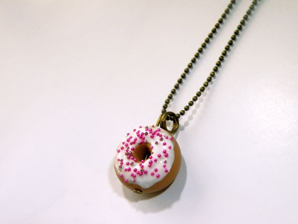 collier donuts bille rose shamhalo